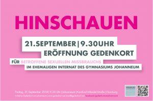 Plakat Gedenkort Übergabe